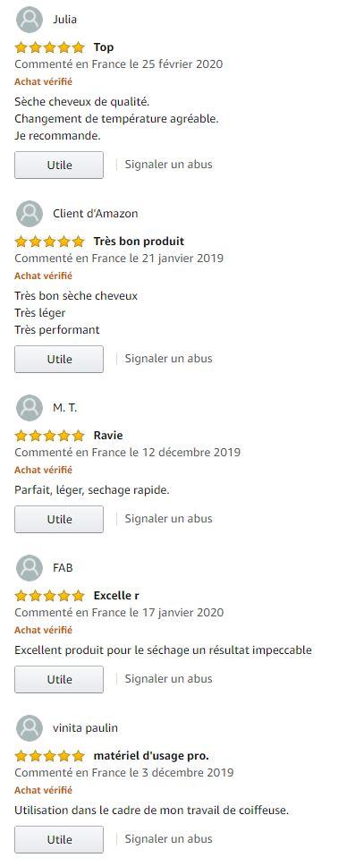 Avis consommateur Parlux Alyon