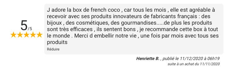 French coco box avis
