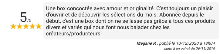 French coco box retour client