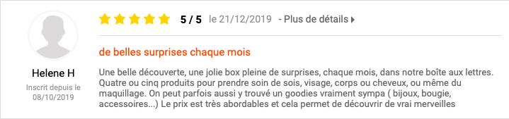 my sweetie box avis