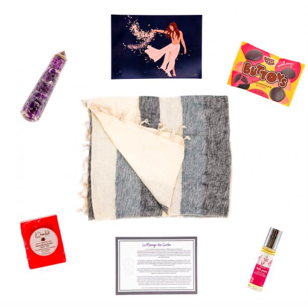 Spiritual box tapis