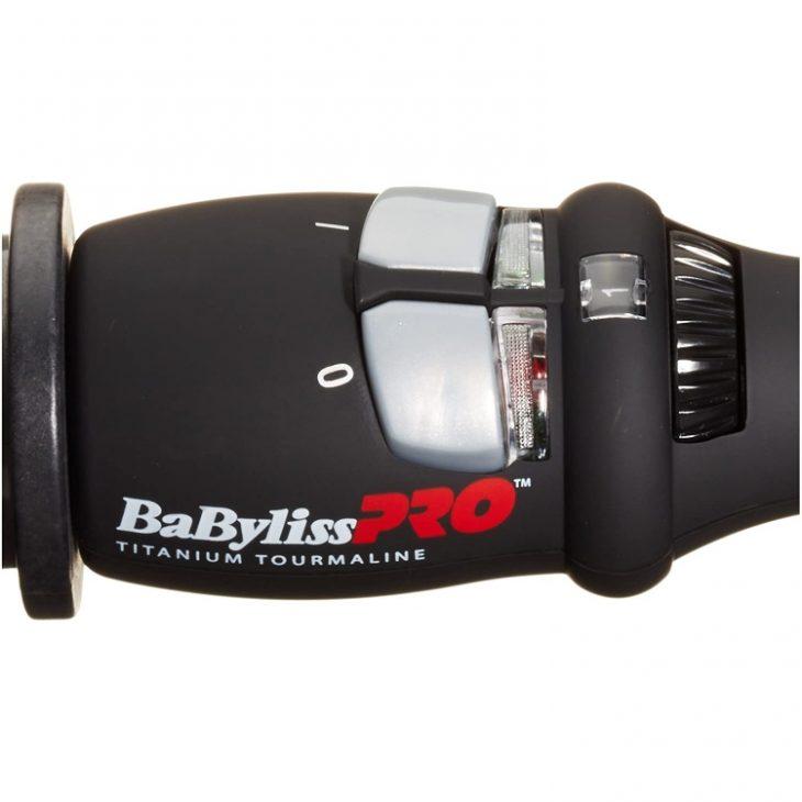 Babyliss Pro Titanium Tourmaline températures
