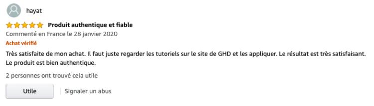 GHD Oracle avis