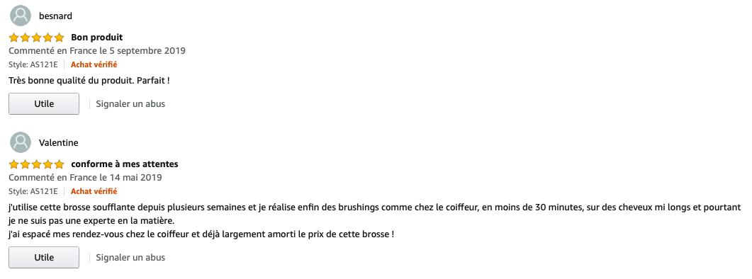 Instyler commentaires