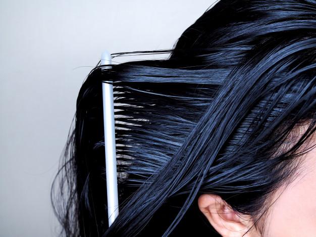 cheveux sebum